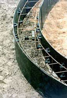 Curved Formwork Beam Form Example