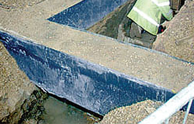 Beam Form eliminates the need for concrete blinding under the beam