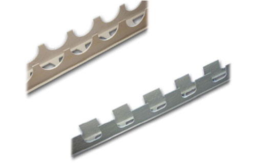 formwork track spacers